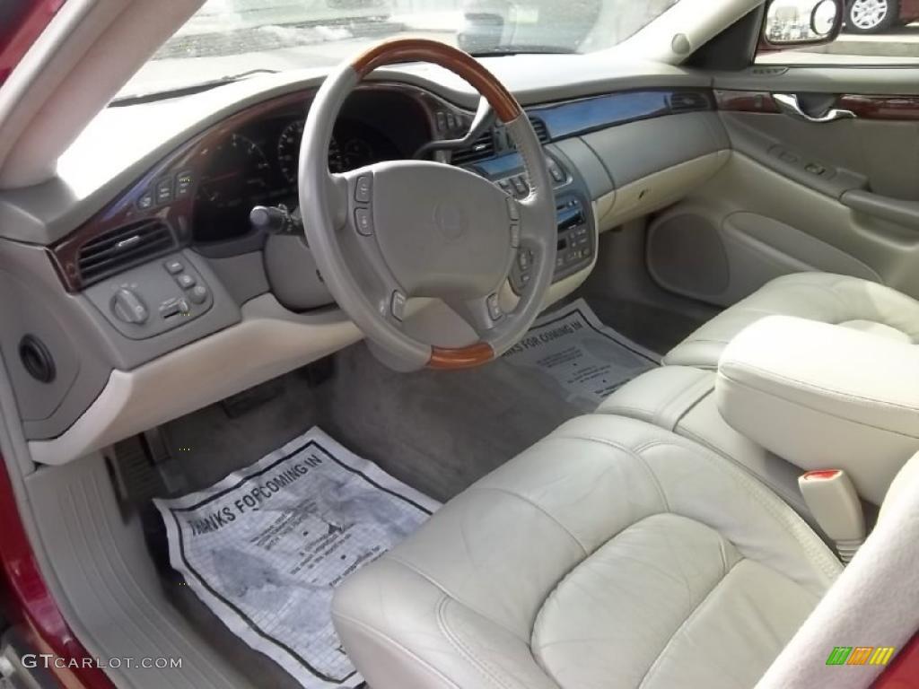 Neutral Shale Interior 2001 Cadillac Deville Dhs Sedan Photo 45580355