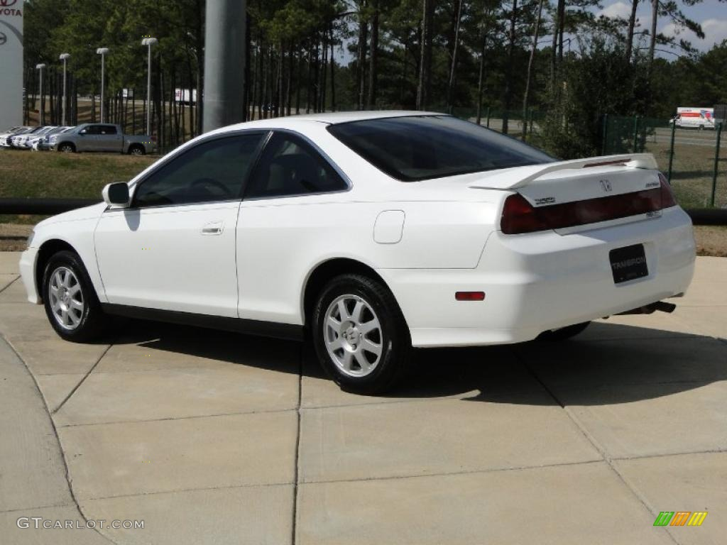 Taffeta White 2002 Honda Accord Se Coupe Exterior Photo