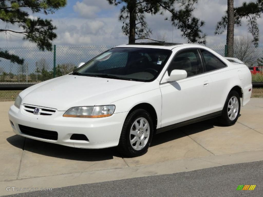Taffeta White 2002 Honda Accord Se Coupe Exterior Photo