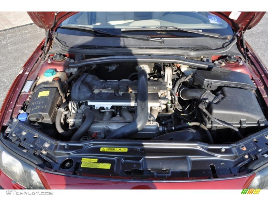 2001 Volvo S60 T5 2.3 Liter T5 Turbocharged DOHC 20-Valve ...