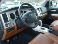 2007 Toyota Tundra Red Rock Interior Prime Interior Photo