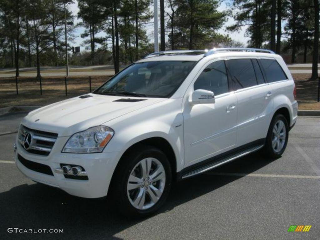 Diamond White Metallic 2011 Mercedes Benz Gl 350 Blutec 4matic Exterior Photo 45593359