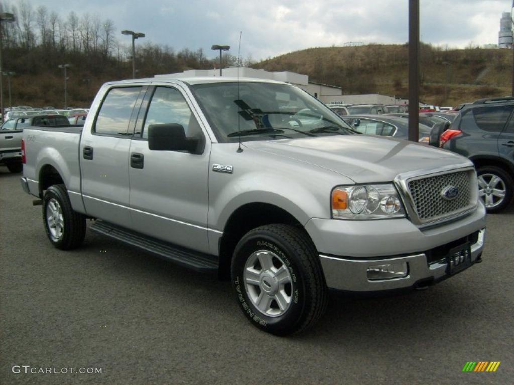 Silver metallic ford f150