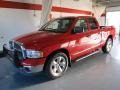2002 Flame Red Dodge Ram 1500 SLT Quad Cab  photo #1