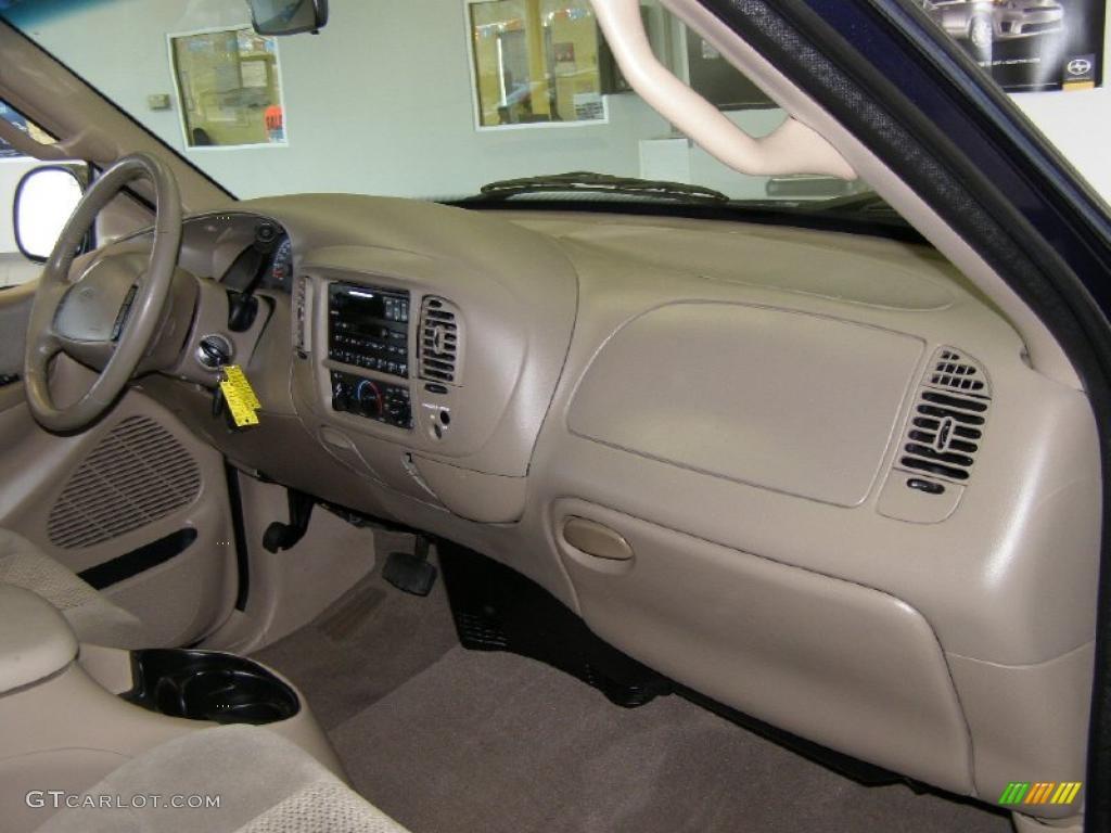 2002 Ford F150 Xlt Supercab Medium Parchment Dashboard
