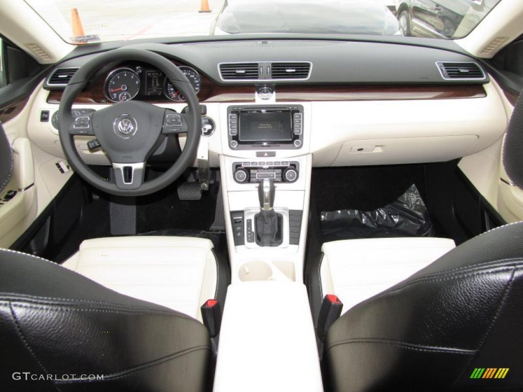 2012 Volkswagen CC Lux Limited Black/Cornsilk Beige ...