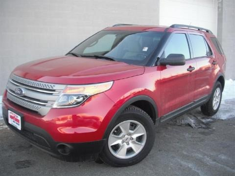 2011 Ford Explorer 4WD Data, Info and Specs