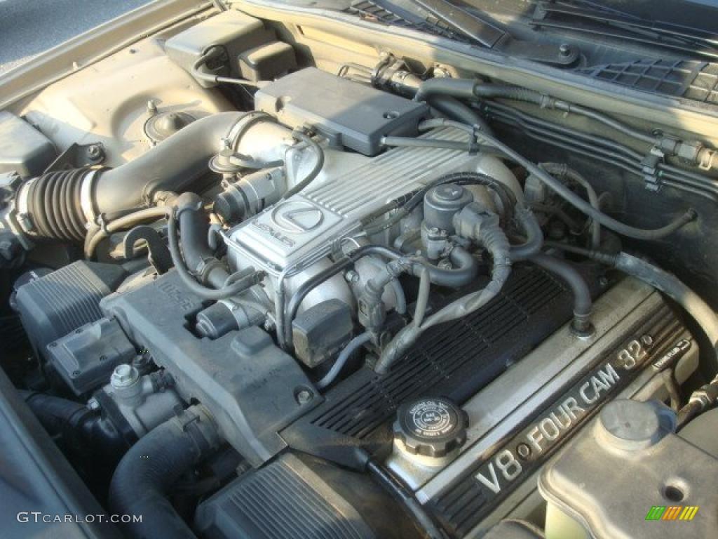 on 1991 Lexus Ls 400 Engine