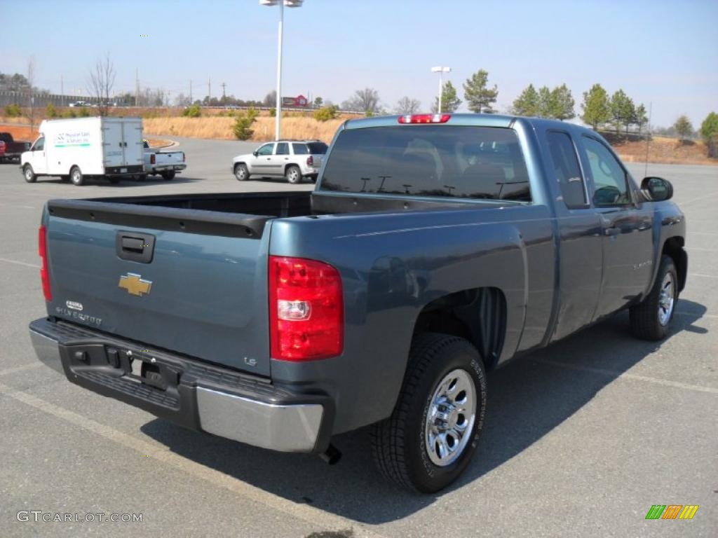 2005 Silverado 1500 >> Blue Granite Metallic 2008 Chevrolet Silverado 1500 LS Extended Cab Exterior Photo #45618972 ...