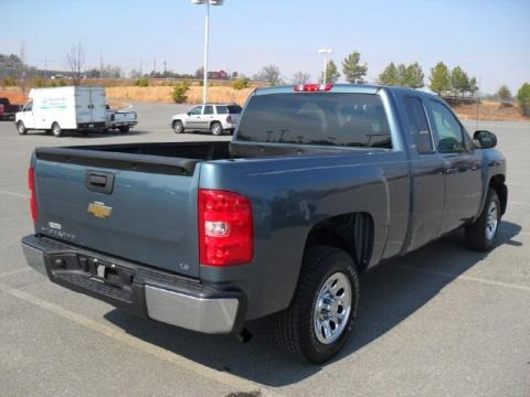 2008 Chevrolet Silverado 1500 LS Extended Cab Data, Info and Specs