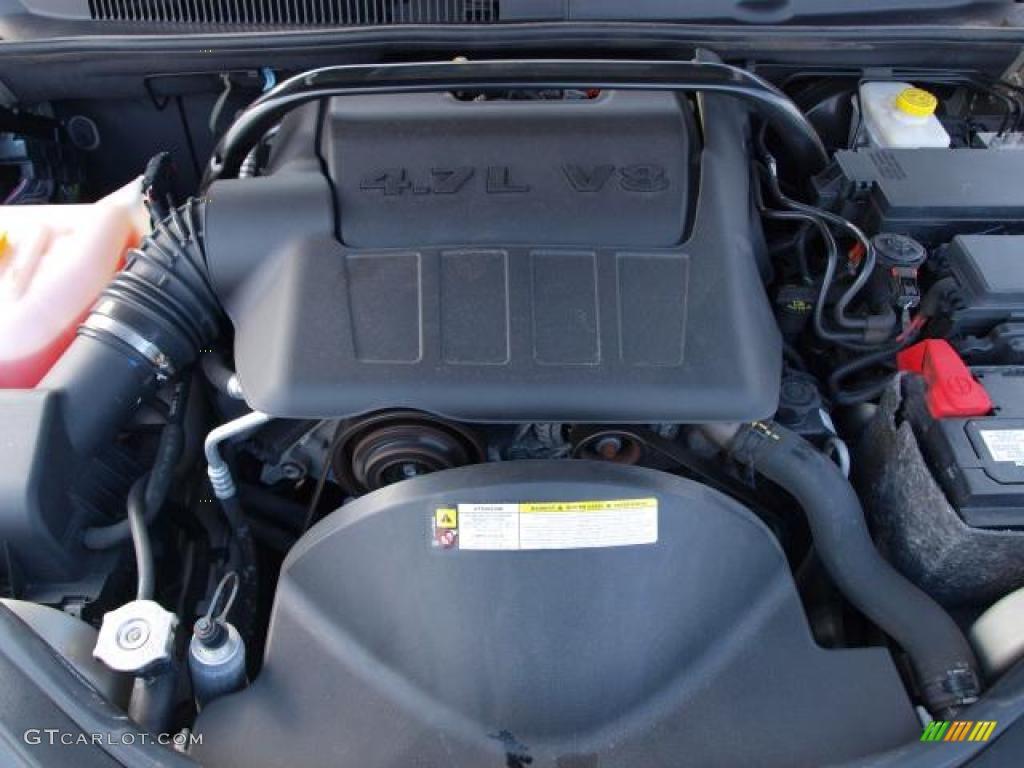 2008 jeep grand cherokee laredo 4x4 4 7 liter sohc 16. Black Bedroom Furniture Sets. Home Design Ideas