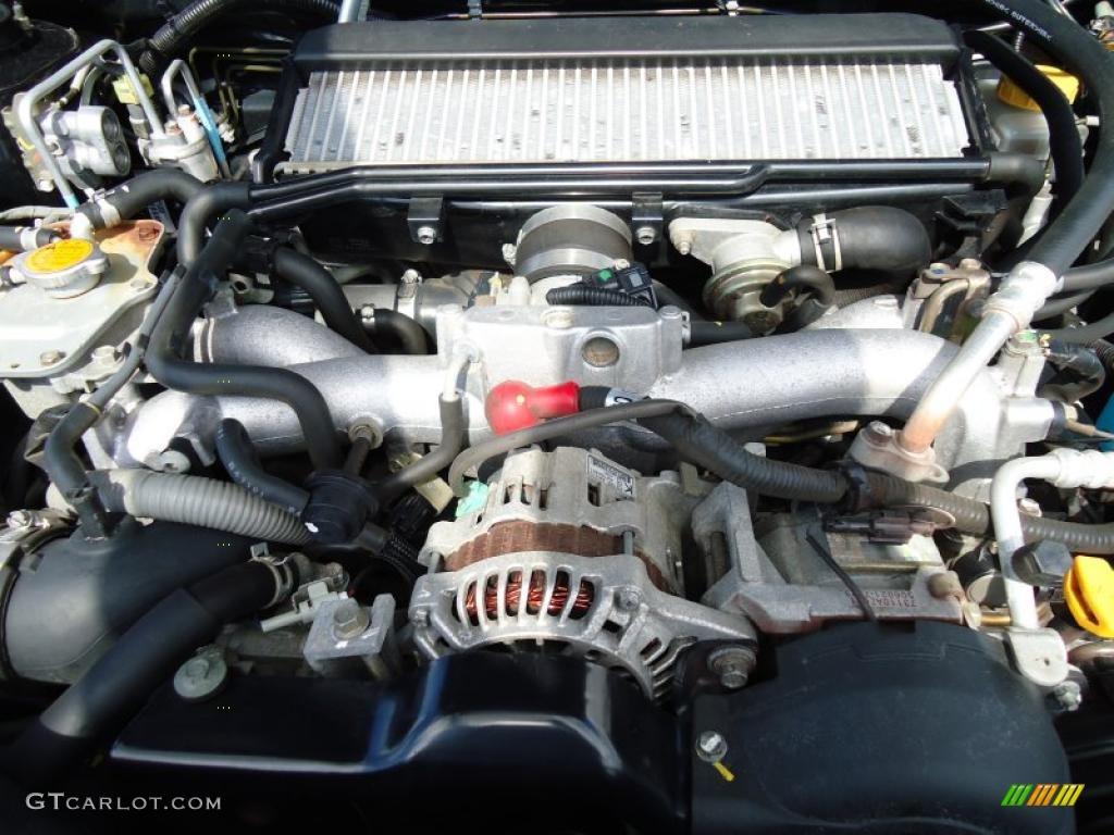 2005 Subaru Baja Turbo 2.5 Liter Turbocharged DOHC 16-Valve Flat 4 ...