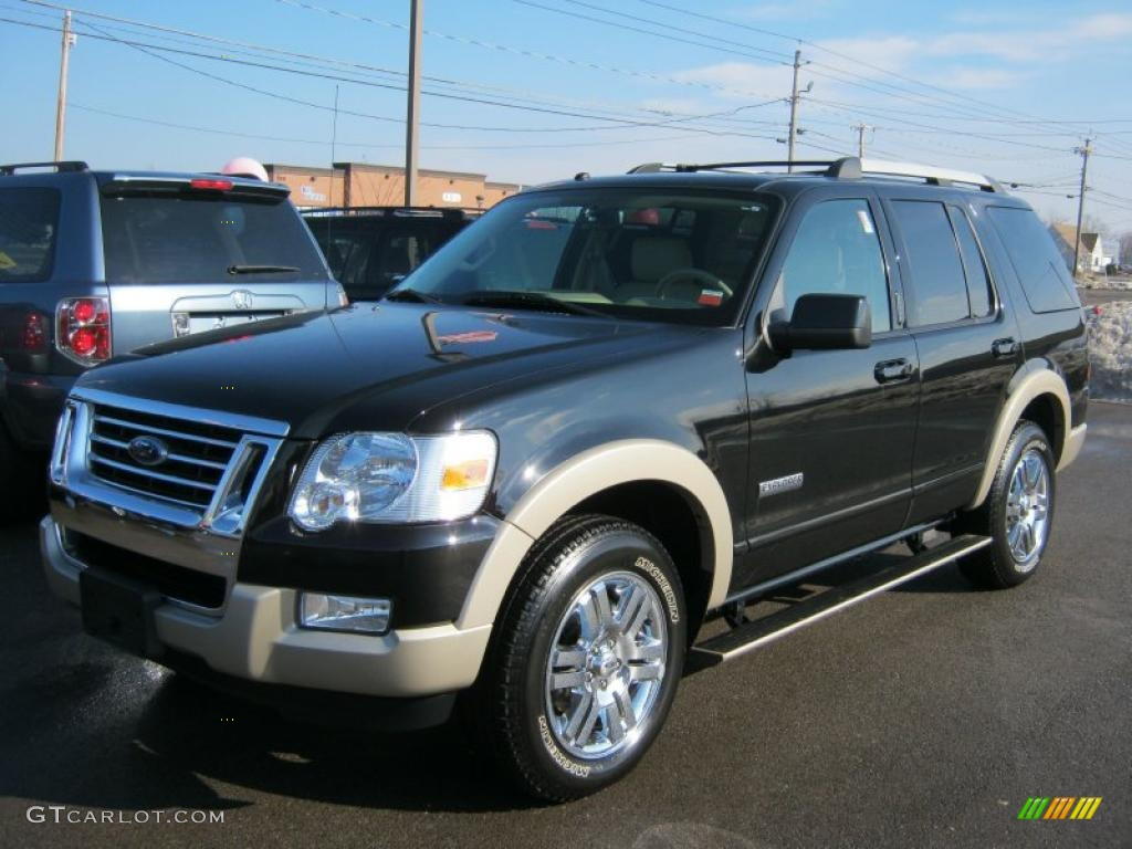 2007 black ford explorer eddie bauer 4x4 45498889 car color galleries. Black Bedroom Furniture Sets. Home Design Ideas