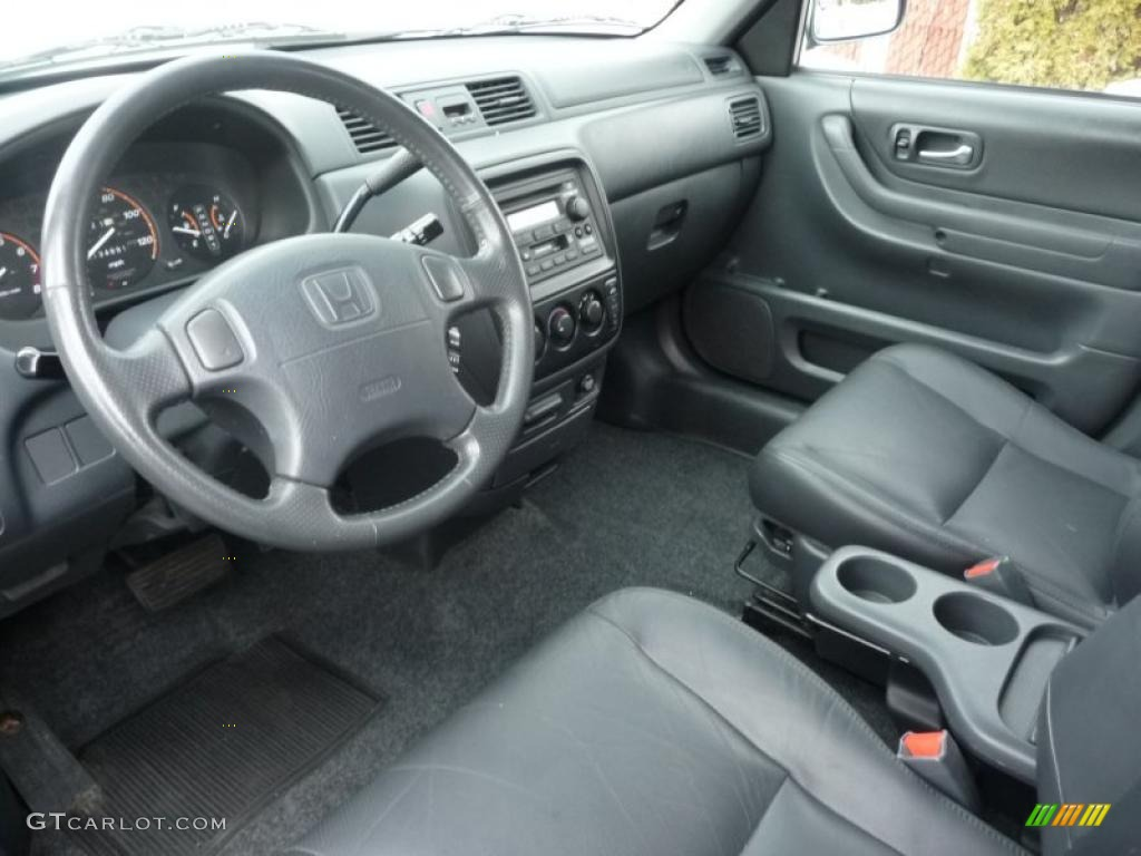 Dark gray interior 2001 honda cr v special edition 4wd for Interior honda crv