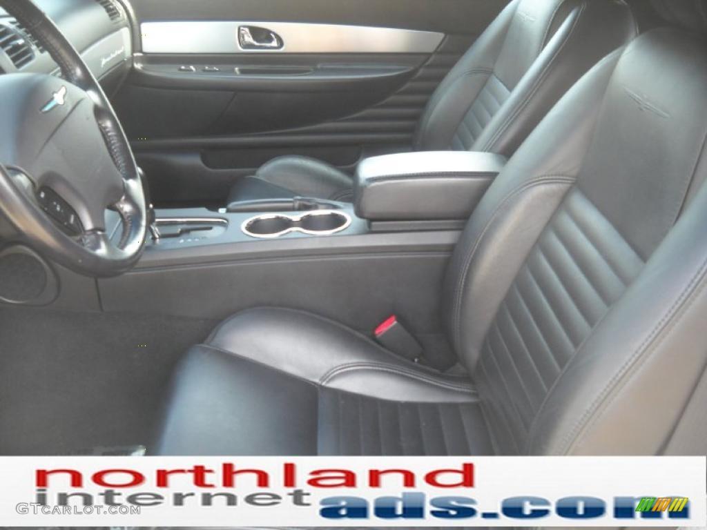 2003 ford thunderbird premium roadster interior photos gtcarlot com - 2003 Thunderbird Premium Roadster Whisper White Black Ink Photo 8