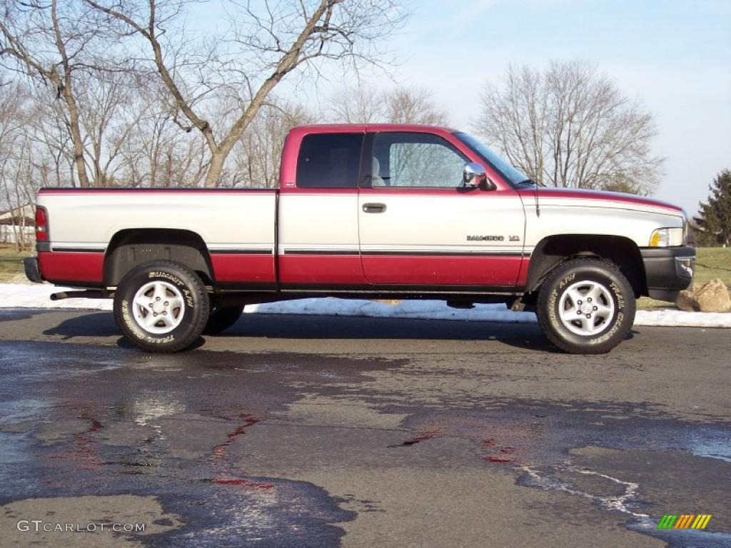 metallic red 1997 dodge ram 1500 laramie slt extended cab 4x4 exterior photo 45643065. Black Bedroom Furniture Sets. Home Design Ideas