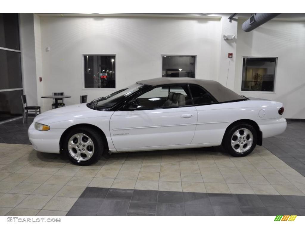 Bright White Chrysler Sebring Jxi Convertible