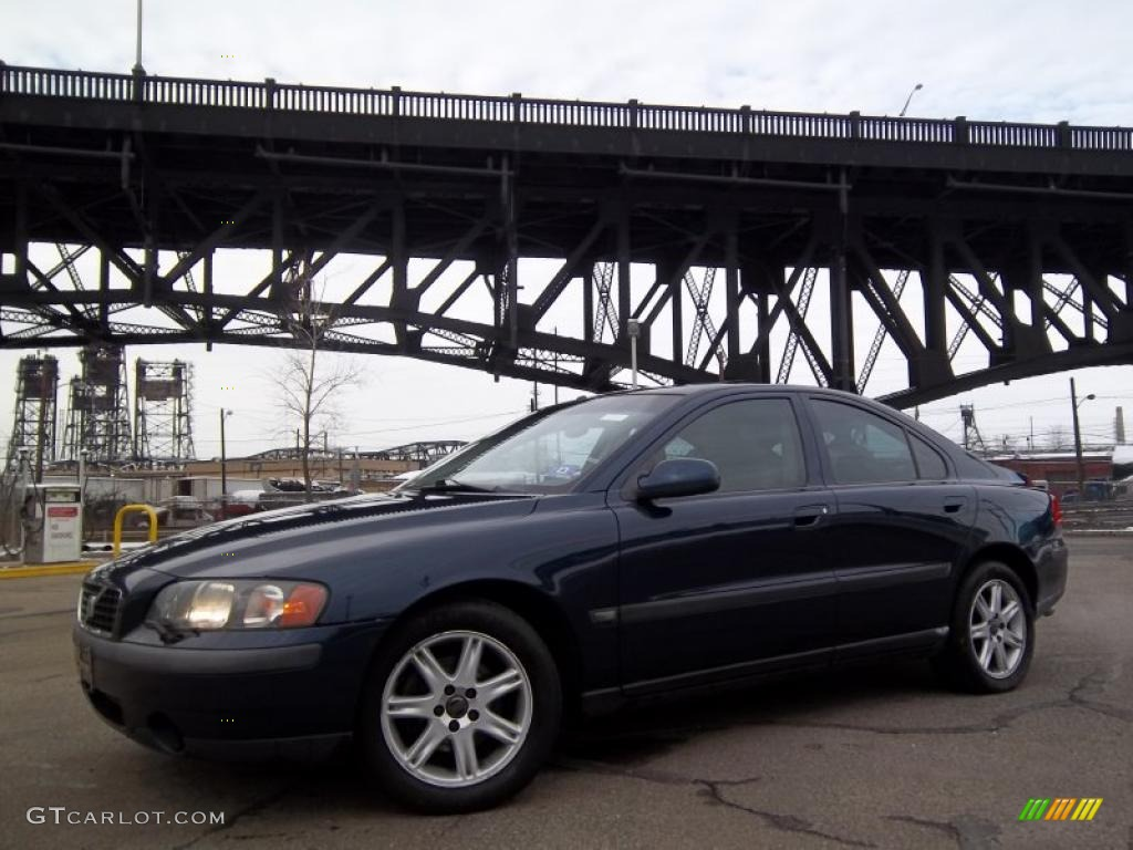 cosmos blue metallic 2002 volvo s60 2 4t exterior photo. Black Bedroom Furniture Sets. Home Design Ideas