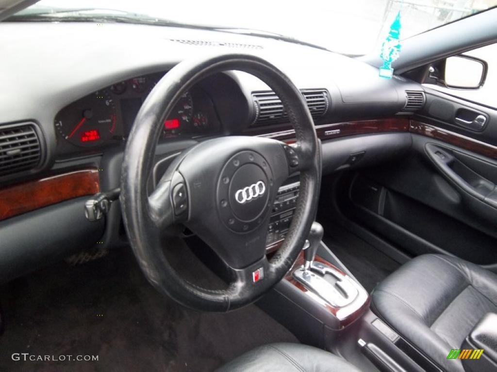 onyx interior 2001 audi a4 2 8 quattro sedan photo. Black Bedroom Furniture Sets. Home Design Ideas