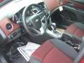 2011 Cruze LT/RS Jet Black/Sport Red Interior