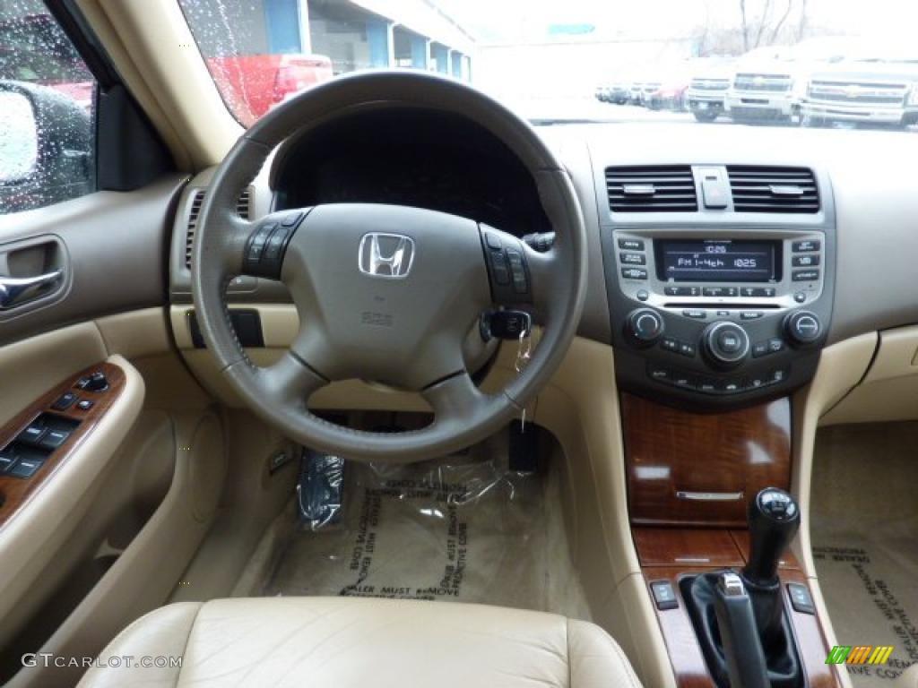2007 Honda Accord Ex L Sedan Ivory Dashboard Photo