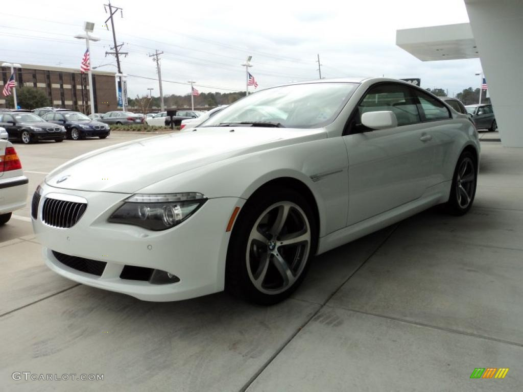 2008 Alpine White BMW 6 Series 650i Coupe #45648552 | GTCarLot.com ...