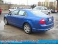 2011 Blue Flame Metallic Ford Fusion SE V6  photo #4