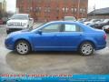 2011 Blue Flame Metallic Ford Fusion SE V6  photo #5