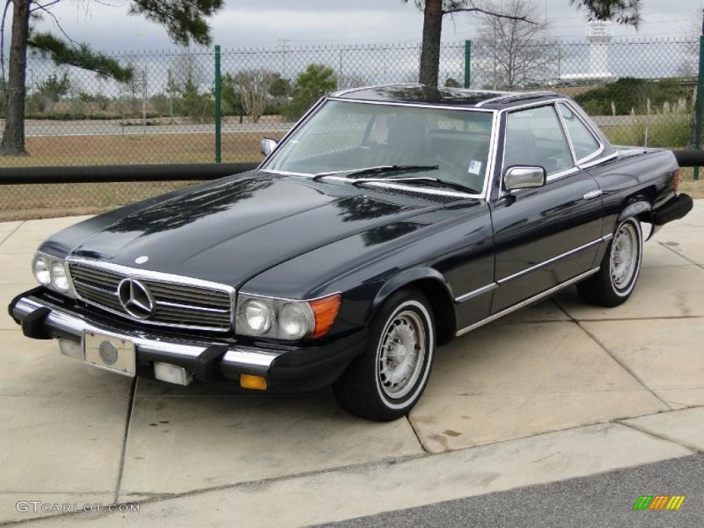 1984 mercedes benz sl class 380 sl roadster exterior for Mercedes benz sl roadster