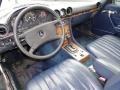 1984 SL Class Dark Blue Interior
