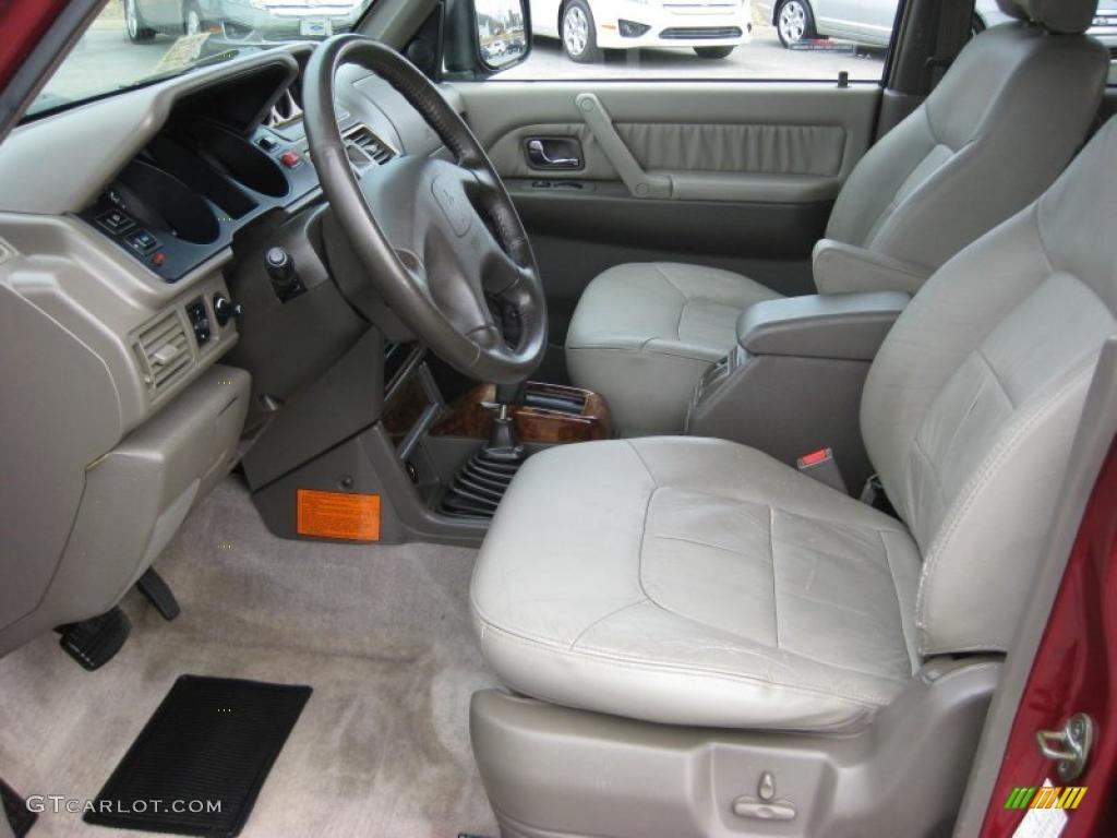 1999 mitsubishi montero 4x4 interior photo 45697233 for Mitsubishi montero interior