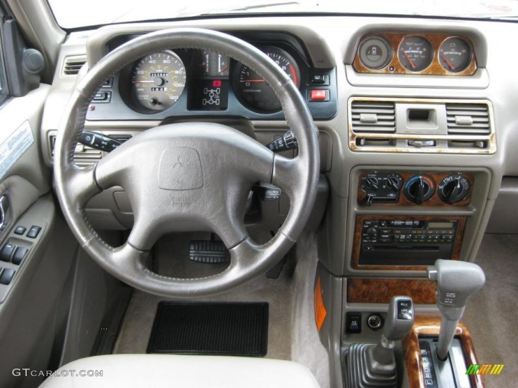 1999 montero 4x4 cambridge red pearl tan photo 25 mitsubishi montero 1999