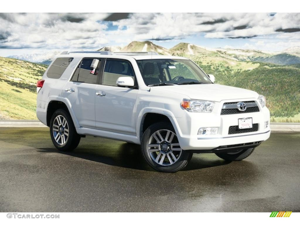 Blizzard White Pearl 2011 Toyota 4runner Limited 4x4