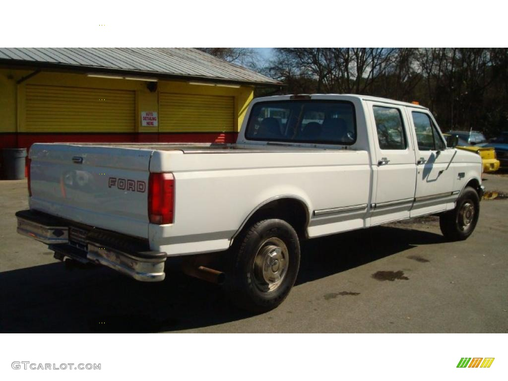 oxford white 1997 ford f350 xl crew cab exterior photo 45700285. Black Bedroom Furniture Sets. Home Design Ideas