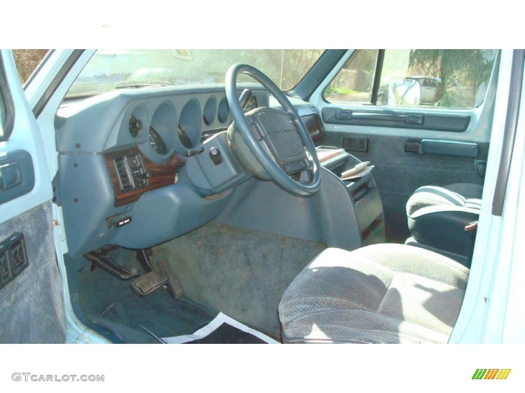 1997 Dodge Ram Van 3500 Penger Interior Photo 45701053
