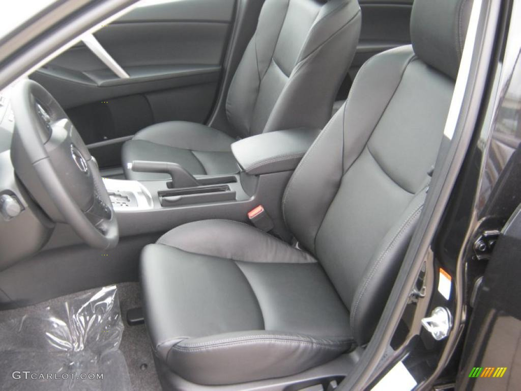 Black Interior 2011 Mazda Mazda3 S Grand Touring 4 Door Photo 45707526