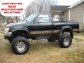 Black 1989 Toyota Pickup SR5 Regular Cab 4x4
