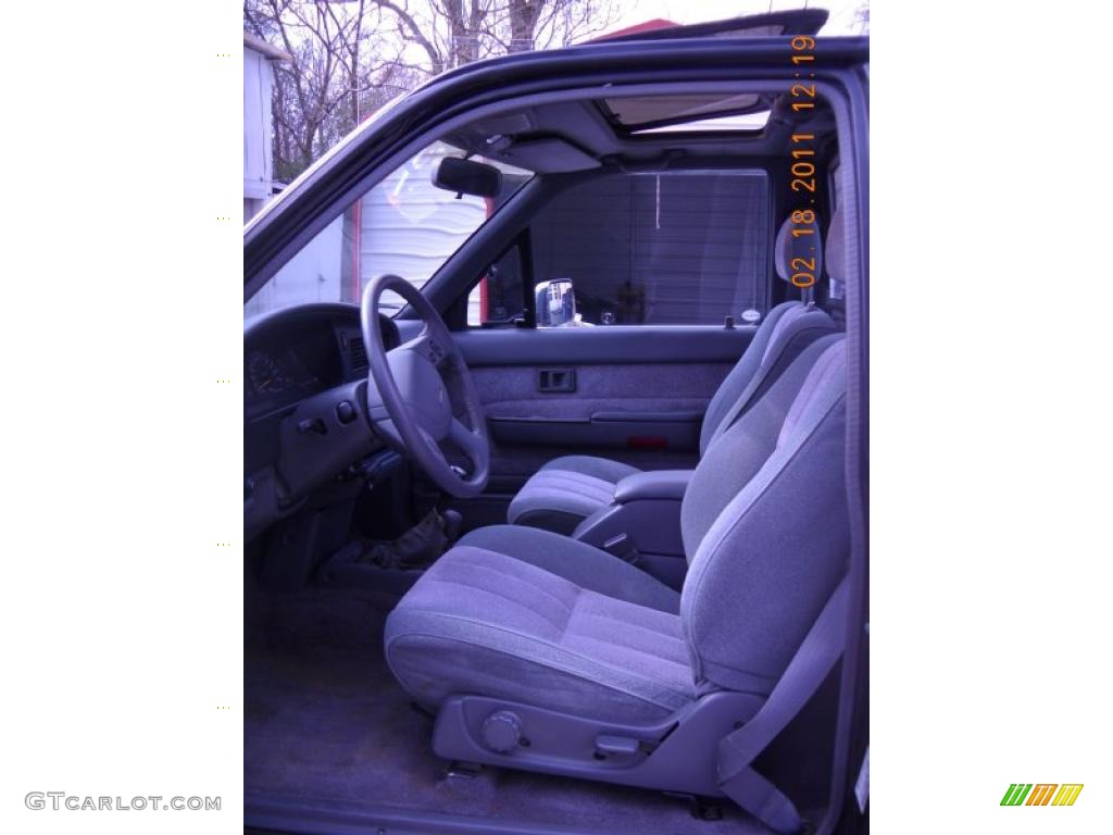 1989 toyota pickup sr5 regular cab 4x4 interior photos. Black Bedroom Furniture Sets. Home Design Ideas