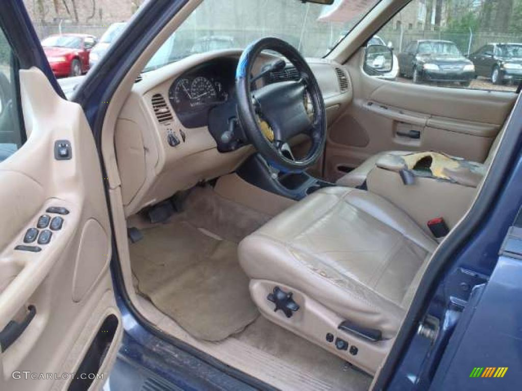 Medium prairie tan interior 2000 ford explorer xlt photo 45731250 2000 ford explorer interior parts