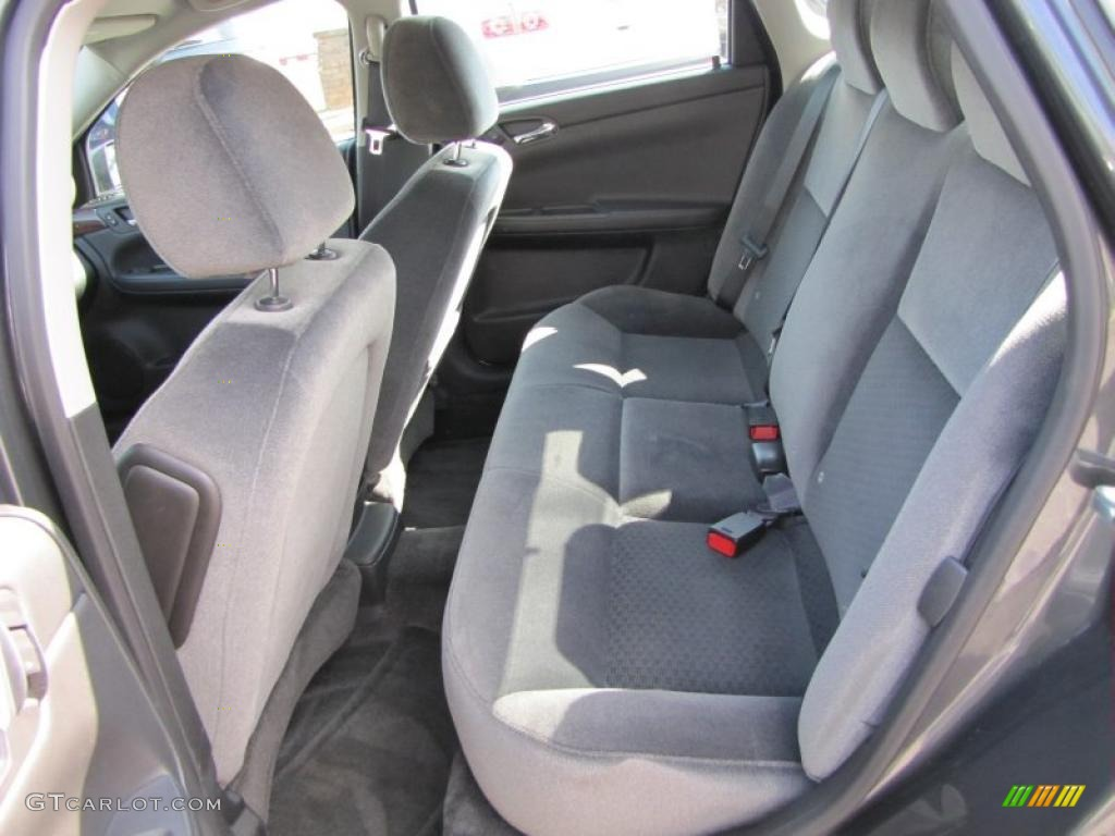 Ebony Interior 2011 Chevrolet Impala Lt Photo 45734462