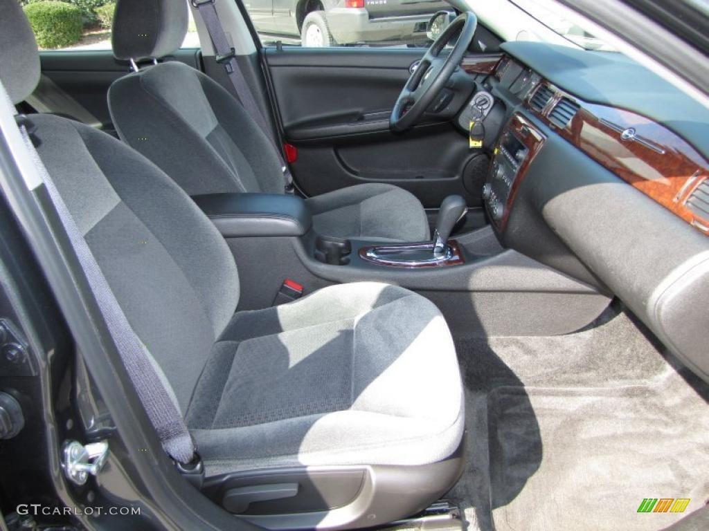 Ebony Interior 2011 Chevrolet Impala Lt Photo 45734502