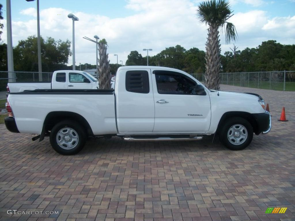 2005 super white toyota tacoma access cab 45691554. Black Bedroom Furniture Sets. Home Design Ideas