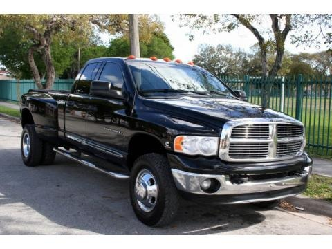 2004 dodge ram 3500 laramie quad cab 4x4 dually data info. Black Bedroom Furniture Sets. Home Design Ideas
