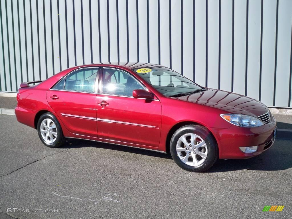 2006 salsa red pearl toyota camry le 4559853 car color galleries. Black Bedroom Furniture Sets. Home Design Ideas
