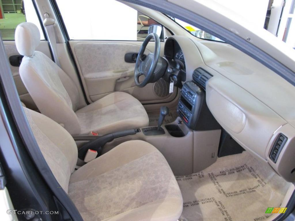 Tan interior 1998 saturn s series sl2 sedan photo 45742882