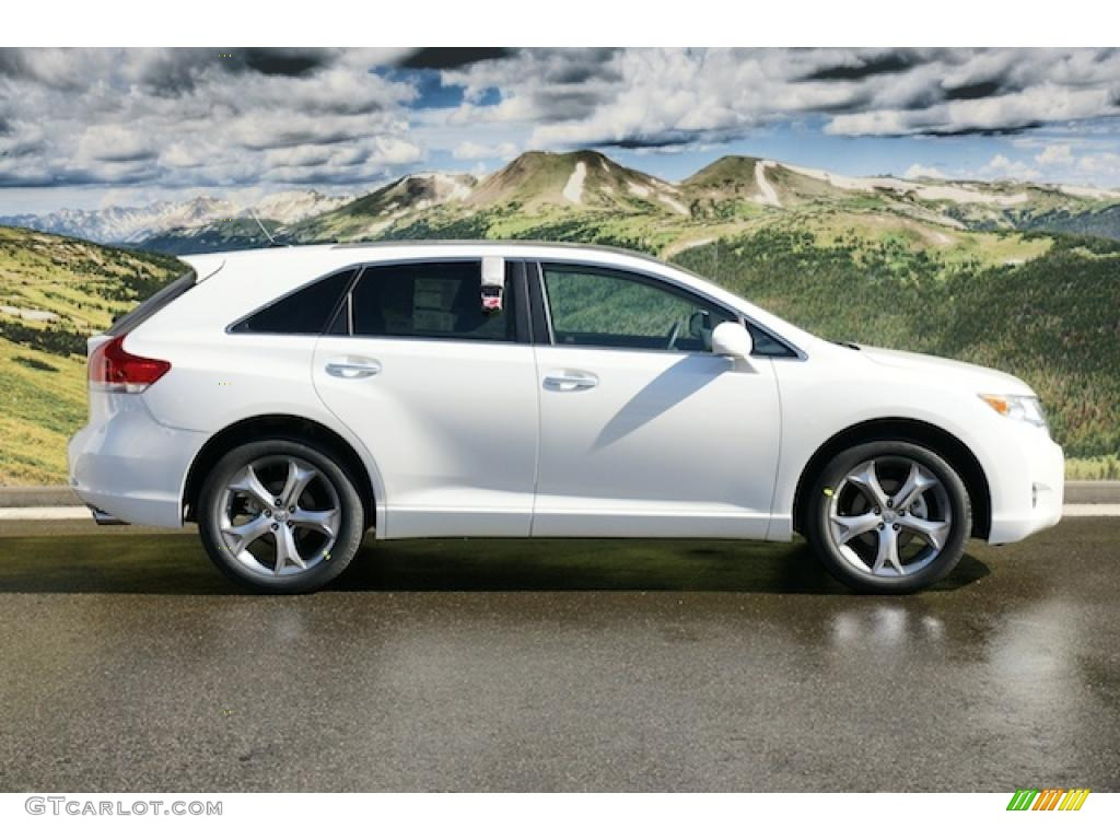 blizzard pearl white 2011 toyota venza v6 awd exterior. Black Bedroom Furniture Sets. Home Design Ideas