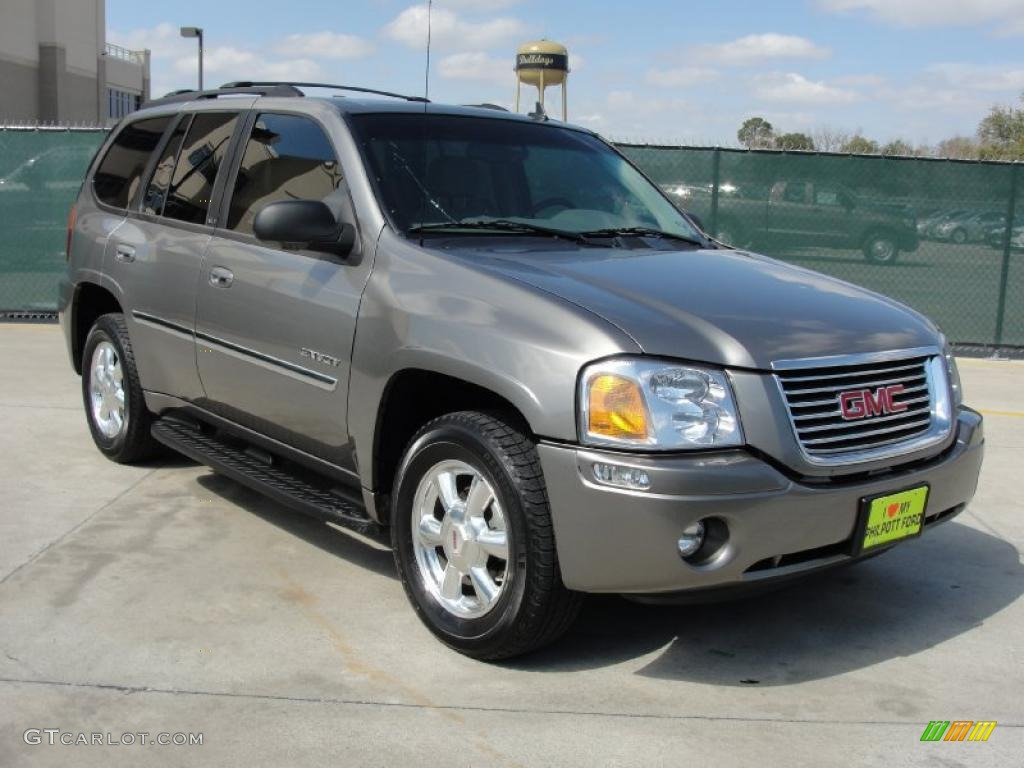 steel grey metallic 2006 gmc envoy slt exterior photo. Black Bedroom Furniture Sets. Home Design Ideas