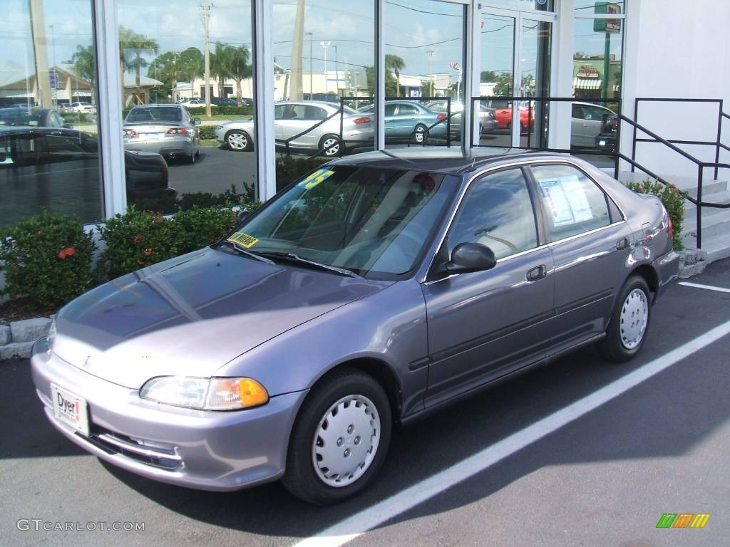 1995 phantom gray pearl honda civic lx sedan 440953 photo 10 car color galleries. Black Bedroom Furniture Sets. Home Design Ideas