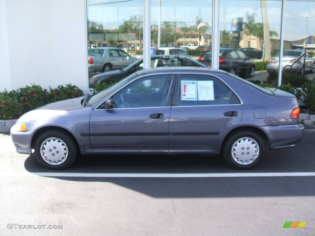 1995 phantom gray pearl honda civic lx sedan 440953 photo 4 car color galleries. Black Bedroom Furniture Sets. Home Design Ideas