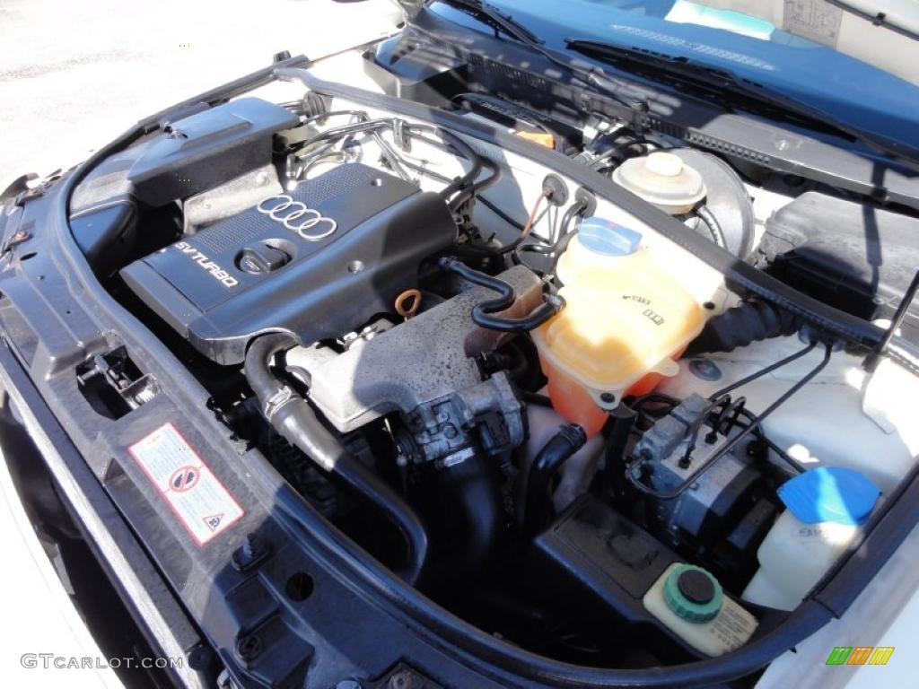 1998 audi a4 1 8t sedan 1 8 liter turbocharged dohc 20. Black Bedroom Furniture Sets. Home Design Ideas